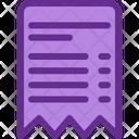 Invoice Detail Invoice Detail Icon
