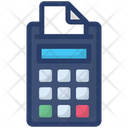 Invoice Teller Invoice Machine Bill Machine Icon