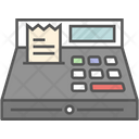 Adding Machine Cash Box Cash Register Icon