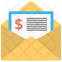 Invoice Mail Icon