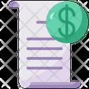 Invoice Receipt Icon