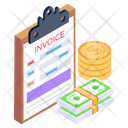 Invoice Report Icon