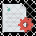 Invoice Setting Icon