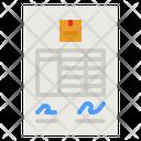 Invoice Sheet Icon