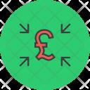 Inward Cash Flow Icon