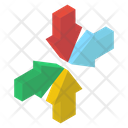 Inward Arrows Icon