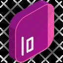 Io Isometric Icon