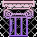 Ionic Capital Column Pillar Icon