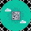 Iot Cloud Computer Icon
