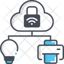 Iot Internet Of Think Cloud Icon