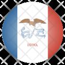 Iowa Us State Icon