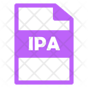 Ipa File Ipa File Icon