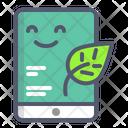 Ipad Leaf Green Icon