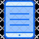 Ipad Touchscreen Technology Icon
