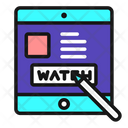 Watchlist Online Video Streaming Video Streaming Icon