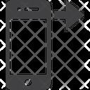 Iphone Right Swipe Iphone Swipe Mobile Icon