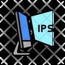 Ips Computer Display Icon