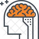 Iq Brain Intelligent Icon