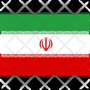 Flag Country Iran Icon