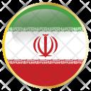 Iran Holiday Flag Icon