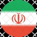 Iran Flag World Icon