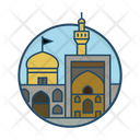 Iran Imam Reza Shrine Icon