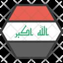 Iraq Iraqi Asian Icon
