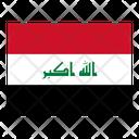 Iraq Flag Flags Icon