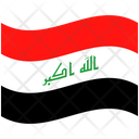 Flag Country Iraq Icon