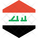 Iraq Flag World Icon