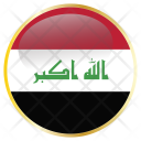 Iraq Flag Country Icon