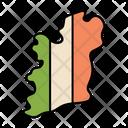 Ireland Country Island Icon