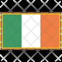 Ireland Flag Country Icon
