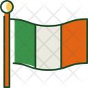 Ireland Flag Flag Country Icon