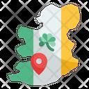 Ireland Map Icon