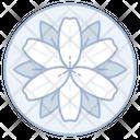 Iris Flower Wedding Icon