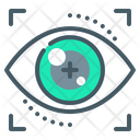 Authentication Eyetap Iris Icon