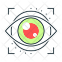 Iris Authentication Eyetap Eye Iris Icon