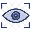 Iris Recognition Eye Recognition Eye Authentication Icon