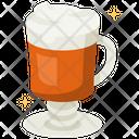Irish Coffee Brewed Coffee Iced Coffee Icon