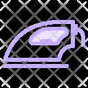 Iron Steaming Ironing Icon