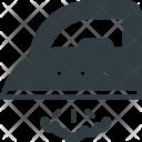 Iron Appliance Steam Icon