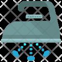 Steam Ironing Iron Icon