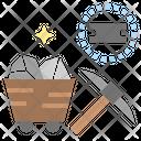 Iron Metal Ore Icon