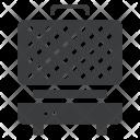 Iron Waffle Appliance Icon