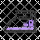 Iron Electronic Laundry Icon