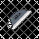 Iron Steam Pressing Icon