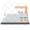Electric Iron Iron Laundry Service Icon