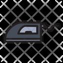 Dry Iron Ironing Icon