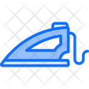 Iron Laundry Electric Appliance Icon